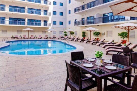 Отель Golden Sands Hotel Apartments